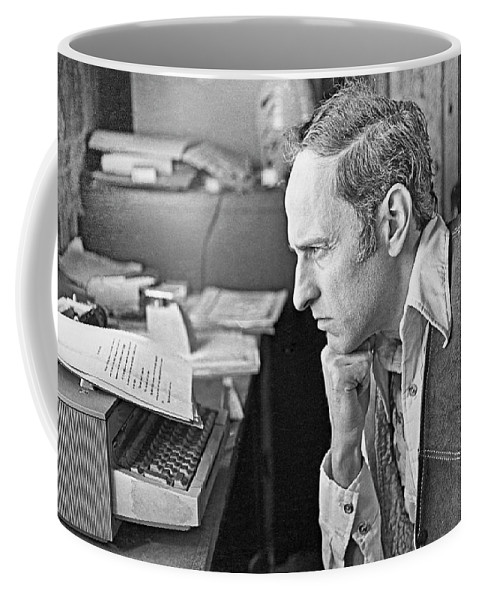 Writer Coffee Mug featuring the photograph Roger Zelazny by Buddy Mays