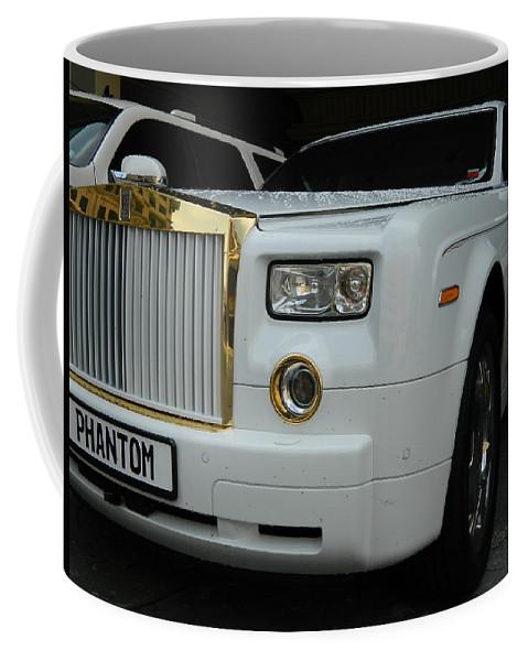 Car Coffee Mug featuring the photograph Rolls Royce Phantom by Arlane Crump