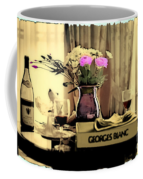 Still Life Coffee Mug featuring the photograph Romance In The Afternoon 2 by Madeline Ellis
