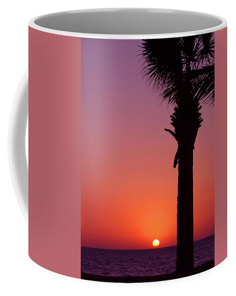 Sunsets Coffee Mug featuring the photograph Romantic Sunset by Susanne Van Hulst