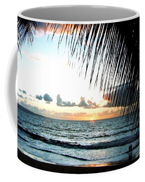 1986 Coffee Mug featuring the photograph Romantic Sunset by Will Borden