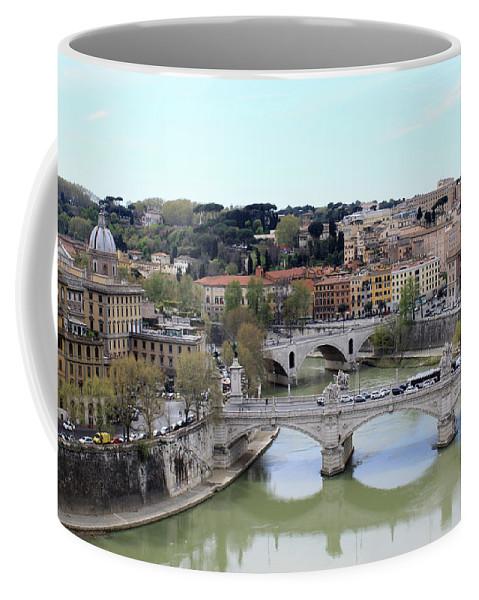 Rome Coffee Mug featuring the photograph Rome River by Munir Alawi