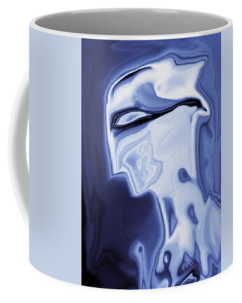 Art Coffee Mug featuring the digital art Romeo by Rabi Khan