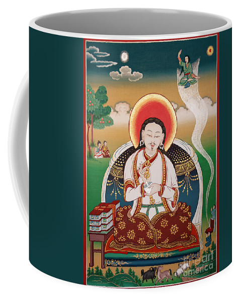 Rongzom Coffee Mug featuring the painting Rongzom Chokyi Zangpo by Sergey Noskov