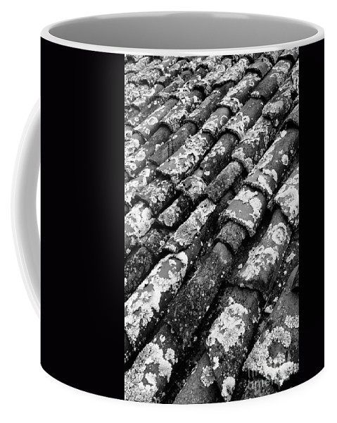Ceramics Coffee Mug featuring the photograph Roof tiles by Gaspar Avila