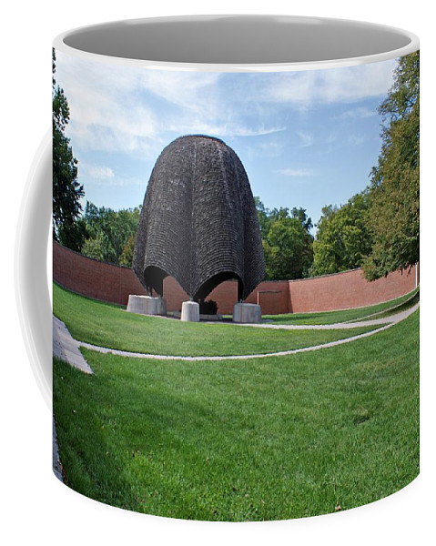 Church Coffee Mug featuring the photograph Roofless Church by Sandy Keeton