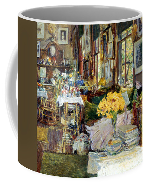 19th Century Coffee Mug featuring the photograph Room Of Flowers, 1894 by Granger