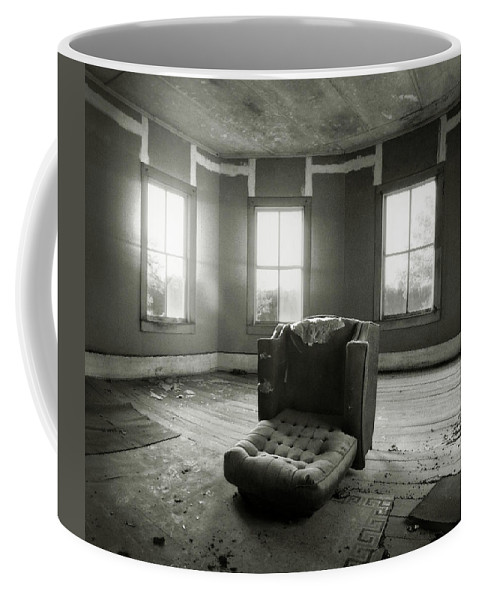 Abandoned Coffee Mug featuring the photograph Room With A View by J K York