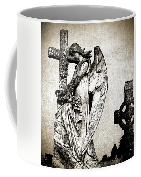 Ireland Coffee Mug featuring the photograph Roscommon Angel No 1 by Teresa Mucha