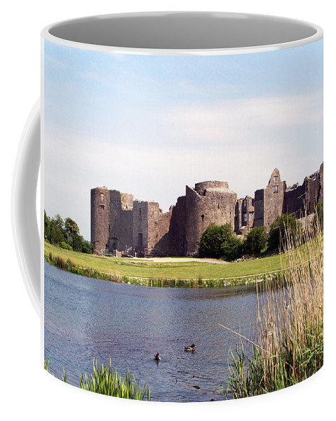 Roscommon Coffee Mug featuring the photograph Roscommon Castle Ireland by Teresa Mucha