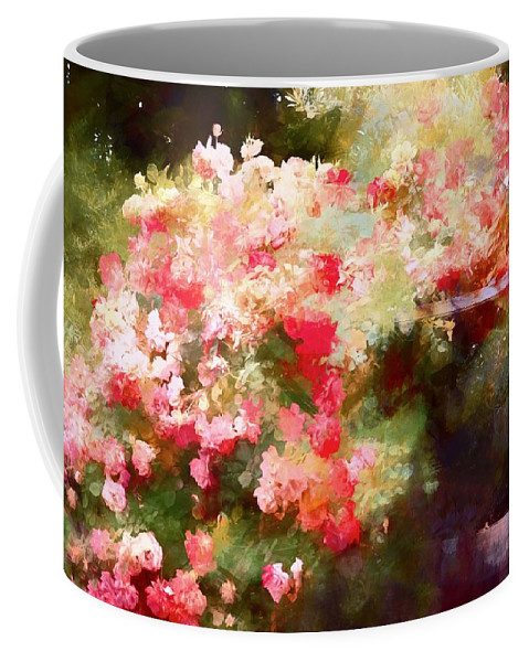 Floral Coffee Mug featuring the photograph Rose 375 by Pamela Cooper