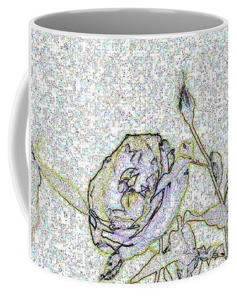Rose Coffee Mug featuring the photograph Rose For U by Tim Allen