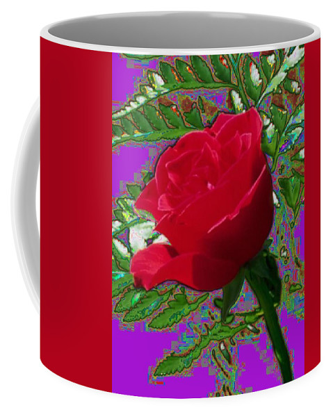 Rose Coffee Mug featuring the photograph Rose For You by Tim Allen