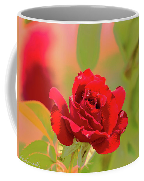 Rose Coffee Mug featuring the photograph Rose by Jerry Connally