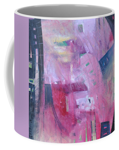 Rose Coffee Mug featuring the painting Rose Room by Tim Nyberg