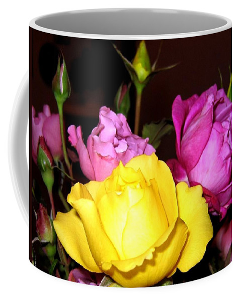 Roses Coffee Mug featuring the photograph Roses 4 by Will Borden