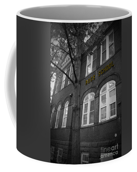Ross Coffee Mug featuring the photograph Ross School by Jost Houk