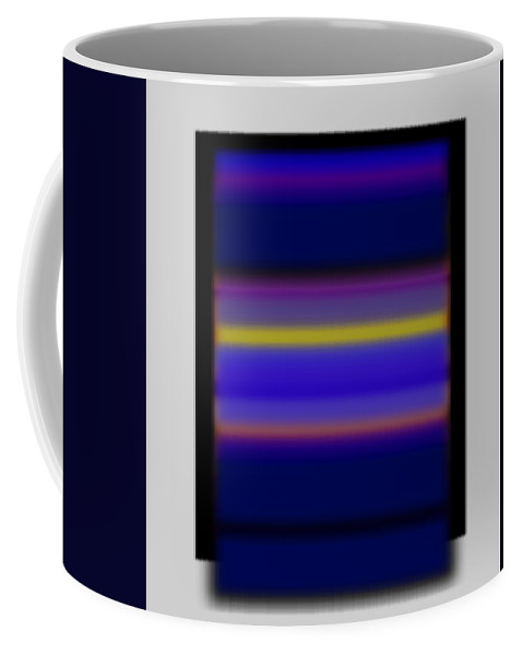 Sunset Coffee Mug featuring the painting Rothko Tv by Charles Stuart