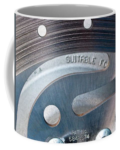 Rotor Coffee Mug featuring the photograph Rotor by Julie Niemela