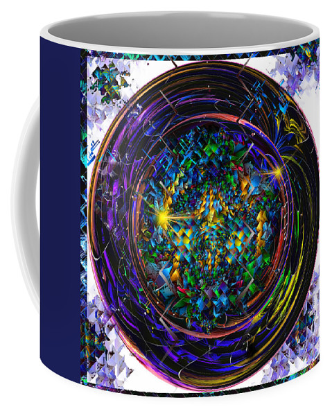 Coffee Mug featuring the digital art Round 29... First Setting by Phil Sadler