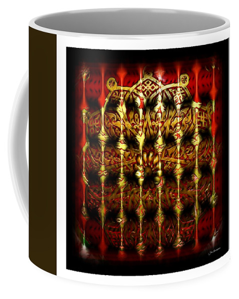 Abstract Coffee Mug featuring the photograph Rounded Abstract by Joan Minchak