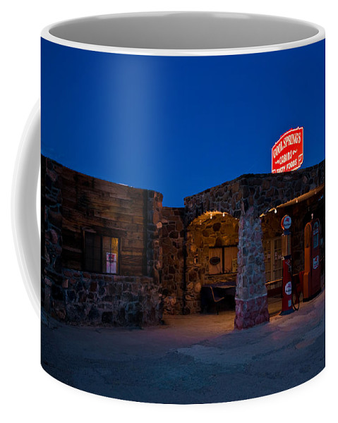 66 Coffee Mug featuring the photograph Route 66 Outpost Arizona by Steve Gadomski