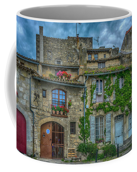 Row Houses Coffee Mug featuring the photograph Row Houses Arles France_dsc5719_16_dsc5719_16 by Greg Kluempers