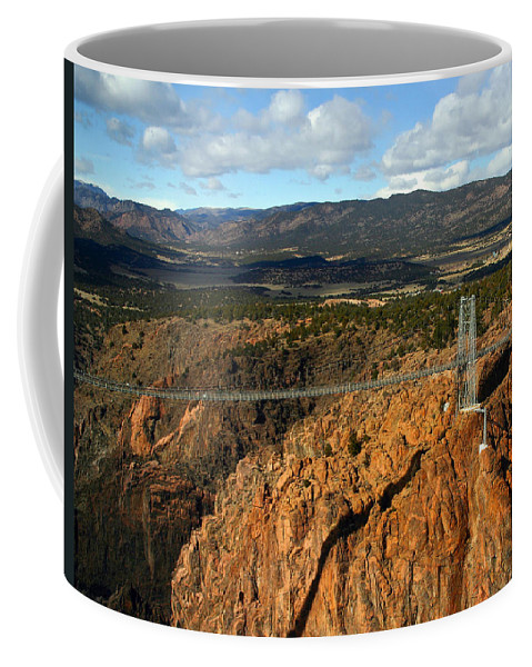 Royal Gorge Coffee Mug featuring the photograph Royal Gorge by Anthony Jones