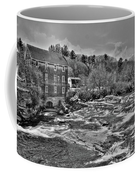 Waterfalls Coffee Mug featuring the photograph Royal River 0156 by Guy Whiteley