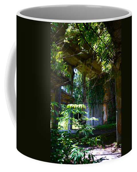 Wwii Coffee Mug featuring the photograph Ruin by Mumbles and Grumbles