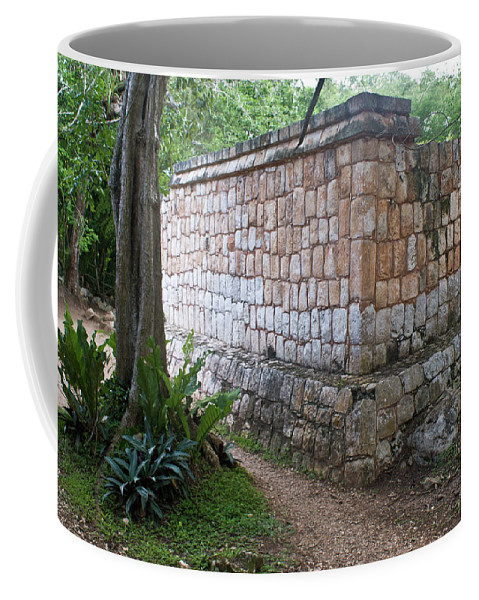 Coffee Mug featuring the photograph Ruins Chichen Itza 1 by Douglas Barnett