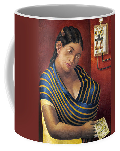 1932 Coffee Mug featuring the photograph Ruiz: Lottery Ticket Seller by Granger