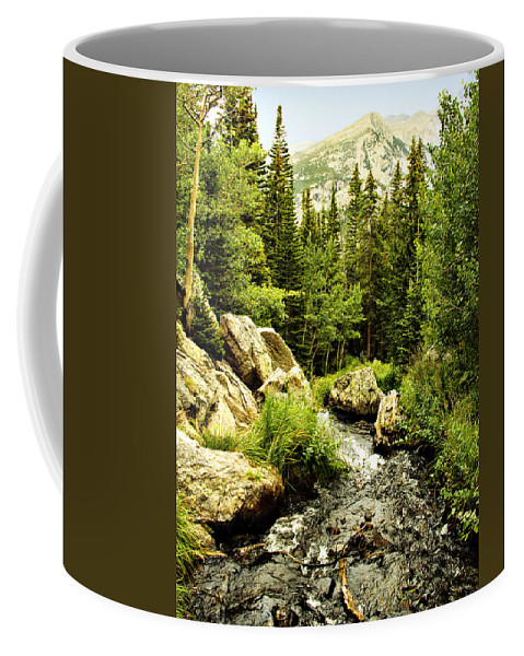 Colorado Coffee Mug featuring the photograph Running River by Marilyn Hunt