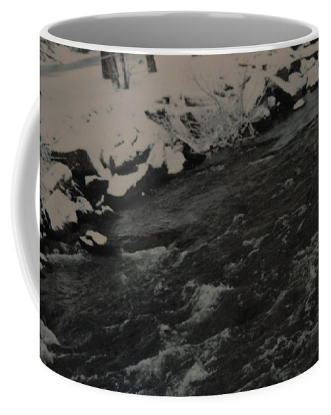 Landscape Coffee Mug featuring the photograph Running Water by Rob Hans