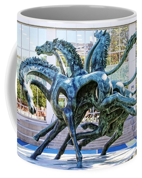 Alicegipsonphotographs Coffee Mug featuring the photograph Running Wild At Drexel by Alice Gipson