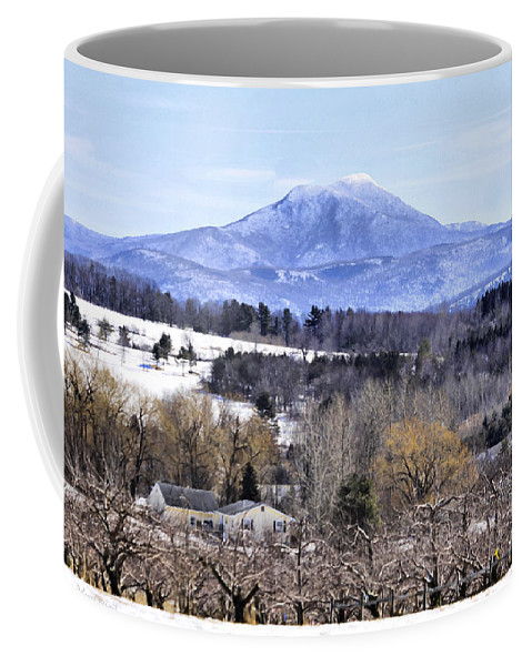 Rural Coffee Mug featuring the photograph Rural Beauty Vermont Style by Deborah Benoit