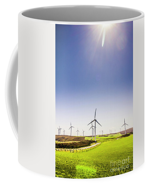 Sky Coffee Mug featuring the photograph Rural Power by Jorgo Photography - Wall Art Gallery