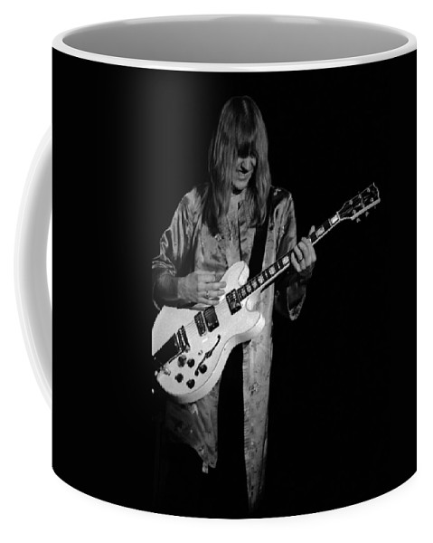 Classic Rock Coffee Mug featuring the photograph Rush 77 #45 by Ben Upham