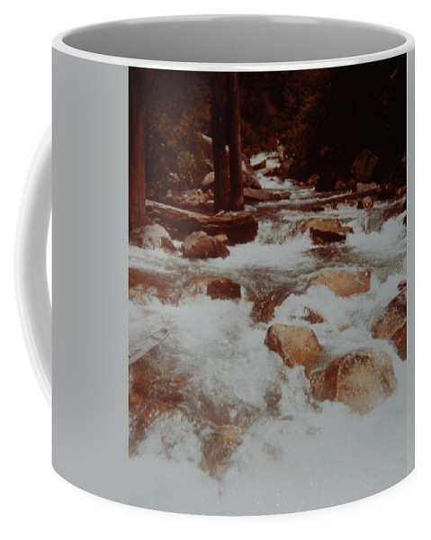 Water Coffee Mug featuring the photograph Rushing Water by Rob Hans