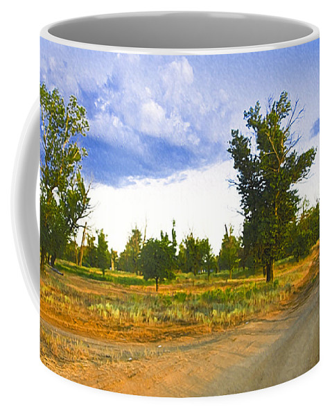 Art Coffee Mug featuring the photograph Russia539 by Svetlana Sewell
