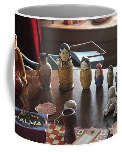 Victorian Coffee Mug featuring the photograph Russian Dolls by Lauri Novak