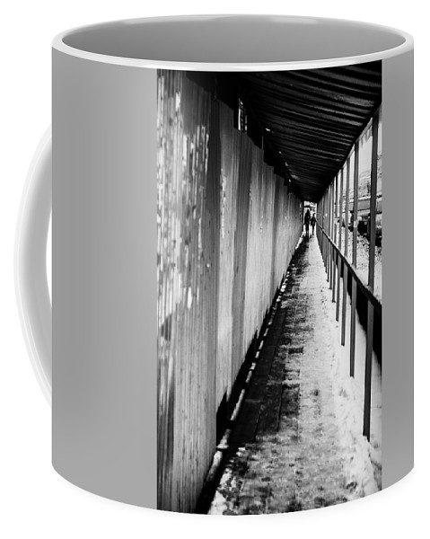 Online Gallery Coffee Mug featuring the photograph Russian Street Scene Day November 2015 by John Williams