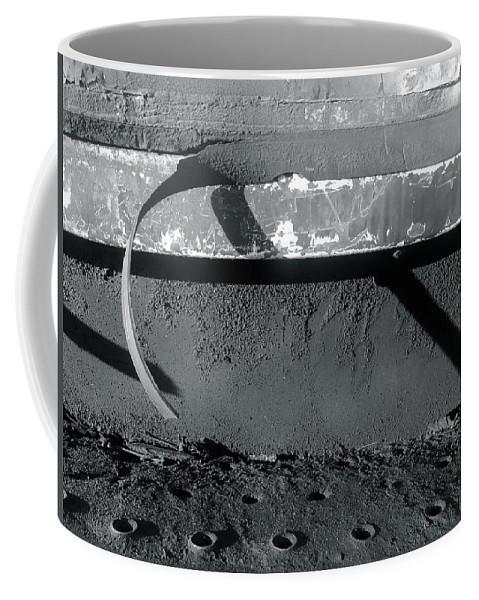 Shadows Coffee Mug featuring the photograph Rust 2 by Julian Grant