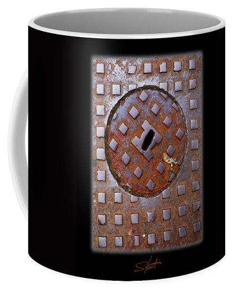 Heavy Metal Coffee Mug featuring the photograph Rust Never Sleeps by Charles Stuart