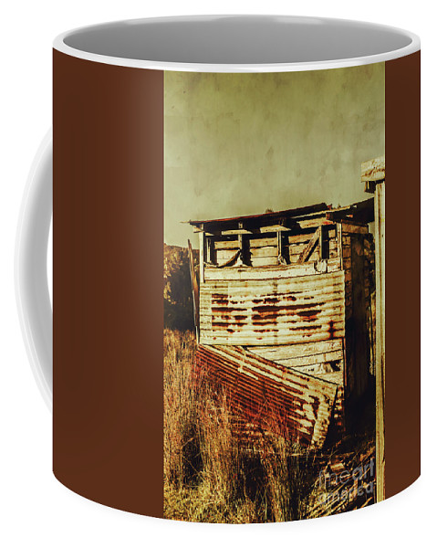 Old Coffee Mug featuring the photograph Rustic Abandonment by Jorgo Photography - Wall Art Gallery