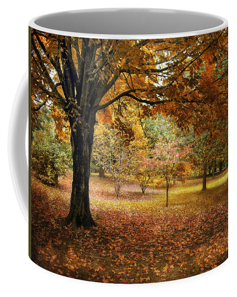 Autumn Coffee Mug featuring the photograph Rustic Autumn by Jessica Jenney