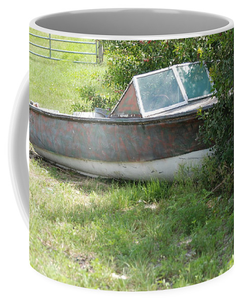 Boat Coffee Mug featuring the photograph S S Minnow by Rob Hans