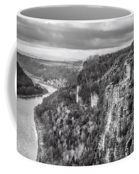 Bastei Coffee Mug featuring the photograph Sachsische Schweiz by Julie Woodhouse