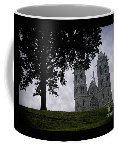 Newark Coffee Mug featuring the photograph Sacred Heart Cathedral Newark New Jersey by Yuri Lev