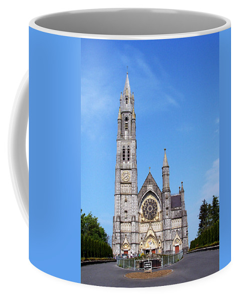 Ireland Coffee Mug featuring the photograph Sacred Heart Church Roscommon Ireland by Teresa Mucha